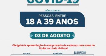 Vacinação Covid-19 – Zona Rural – Público alvo