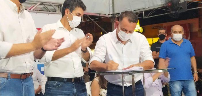 Governador participa da entrega de benefícios e da inauguração de obras em Conceição do Araguaia